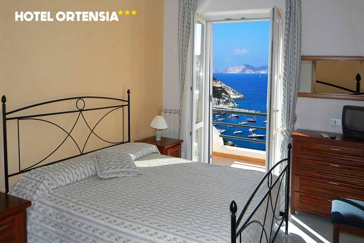 Camere | Hotel Ortensia - Isola di Ponza - Le Forna
